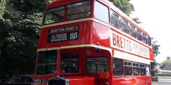 1949 Bristol K5G/ECW Double Deck Bus - HPW 133