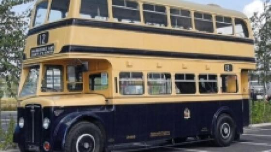 1950 Crossley Bus - JOJ 489