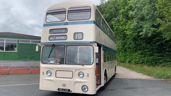 1968 Damiler Fleetline CRG6
