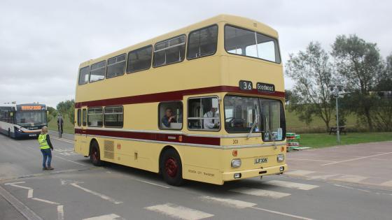 1975 Scania Metropolitan Double Deck Bus - GJF 301N