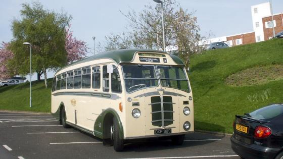 1952 Beadle- Leyland Integral Coach - OKP 980