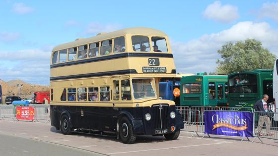 1950 Crossley Double Decker Bus - JOJ 489