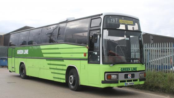 1985 Leyland Tiger Plaxton Paramount Coach - RIL 9469